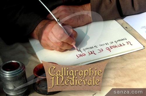 Calligraphie Médiévale