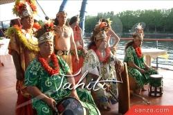 Ukulélé et Tambours Tahitiens