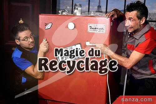 Spectacle Magie du Recyclage