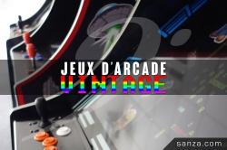 Borne de Jeux d'Arcade Vintage