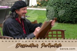 Dessinateur Portraitiste
