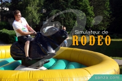 Simulateur de Rodéo Mécanique