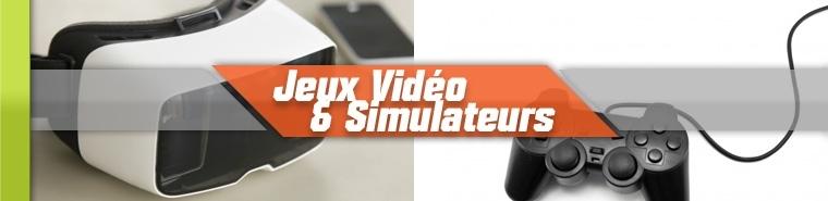 Jeux Vidéo, Bornes, Simulateurs - SANZA Animation Evénementielle