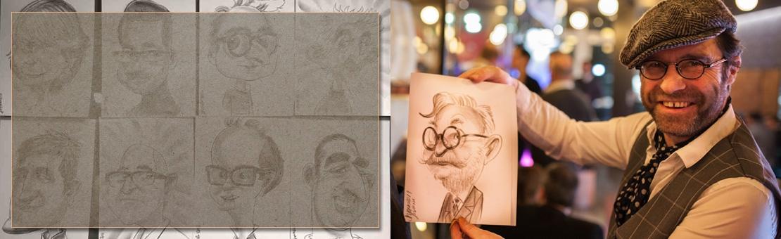 Caricaturiste Montmartre